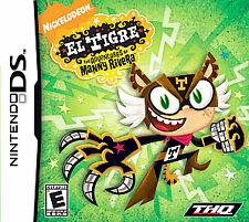 Nintendo DS - El Tigre The Adventures of Manny Rivera - Game Cart Only