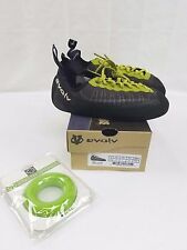 Evolv Defy Lace charcoal/lime climbing shoes sizes 7-11.5