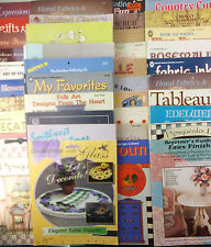 Decorative Tole Painting Books with Patterns Mixed Large Lot of 42