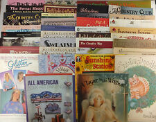 Decorative Tole Painting Books with Patterns Mixed Large Lot of 38