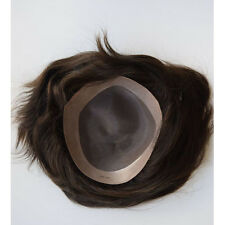 Mens toupee mono base size 8*10inch or other size Indian remy hair men's wig
