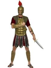 Sale! Adult Roman Perseus Gladiator Mens Fancy Dress Stag Party Costume Outfit