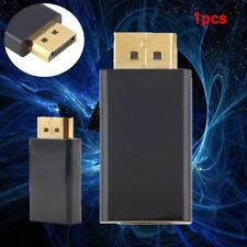 New Display Port DP Male To HDMI Female Adapter Converter Adaptor for HDTV HH