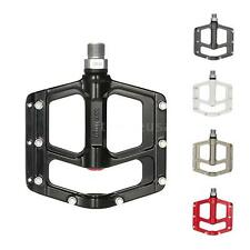 WELLGO MTB ROAD BIKE BICYCLE ULTRA-LIGHT 9/16'' THREAD BIKE FLAT PEDALS Y7R5
