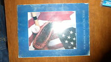 1986 Official World Series Program NY Mets VS Boston Red Sox