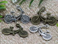 Hot 30/150pcs Tibetan Silver bicycle Alloy Jewelry Charms Pendant 26x19mm F