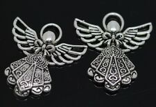 Hot 20/100pcs Tibetan Silver Lovely Angel Jewelry Finding charms pendant 26x23mm
