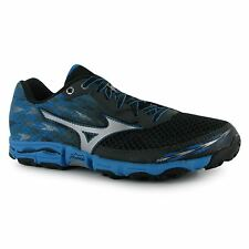 Mizuno Wave Hayate 2 Running Shoes Womens Gry/Blue Trainers Sneakers Sports Shoe