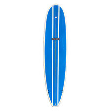 Sunride Surfboard Mal Blue Panel Beginners to Advanced Fun includes FCS fins