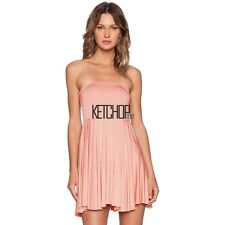 Women Fashion Sexy Strapless Sleeveless Off Shoulder Backless Stretch KECP01