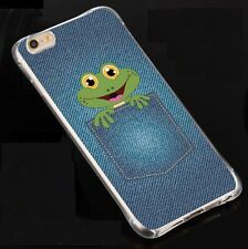 Lovely Frog Soft Back  Case Cover for iPhone 6/6s