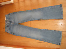 REPLAY BLUE JEANS VINTAGE LOOK STONEWASHED BOOTCUT WAIST 26  UK 8 XS BNWT