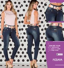 JEANS COLOMBIANOS, M108, Authentic Colombian, Push Up Jeans, Jean Levanta Cola