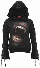 Spiral Direct GOTH FANGS Hoodie Black  Gothic  Fangs  Mystical  Vampire