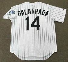 ANDRES GALARRAGA Colorado Rockies 1996 Majestic Throwback Home Baseball Jersey