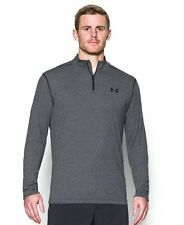 UNDER ARMOUR MENS UA THREADBORNE SIRO 1/4 ZIP SHIRT PULLOVER GRAY #1289600-NWT