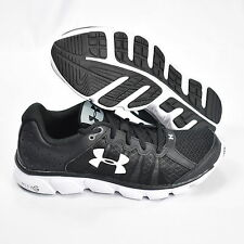 Under Armour Micro G Assert 6 1266224-001 Mens Athletic Shoes Black & White