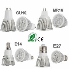High Power 9W 12W 15W Bulb E27 GU10 E14 MR16 LED Spot Light Energy Saving Lamp