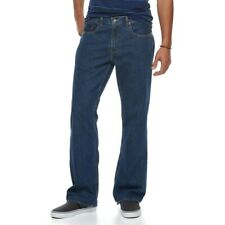 Urban Pipeline Mens Relaxed Bootcut  & Relaxed Straight Jeans Free Priority Ship