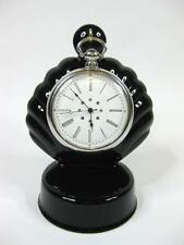 BLACK Porcelain Pocket watch stand, watch display stand (choice of 3 colours)