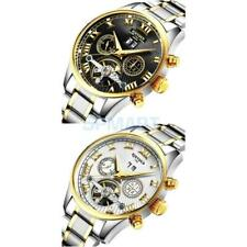 KINYUED Stainless Steel Automatic Mechanical Business Wrist Watch for Men Gifts