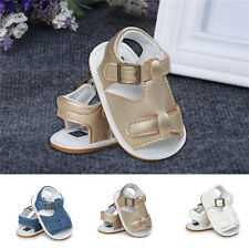 Newborn Toddler Infant Baby Boys Casual Shoes Soft Sole Crib Anti Slip Sandals