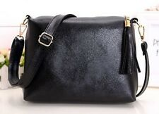 Women Pu Leather Cross Body Candy Color Cell Phone Pocket Soft Shoulder Bag