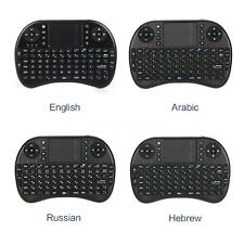 Mini Wireless QWERTY Keyboard Touchpad for Laptop PC Smart TV Notebook NEW B9D3