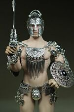 Phicen Steel Skeleton Male Armored Sparta Clothes 1/6 Set With Sword For Body
