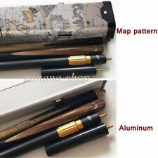 Panana set 3/4 piece Handmade Ash Snooker Pool Cue Case Extension Wood cues