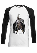 Berserk Dark Fantasy Horror Men Women Long Short Sleeve Baseball T Shirt 157E