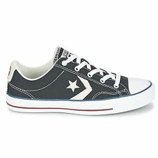 Converse Star Player Ox Black Womens Trainers