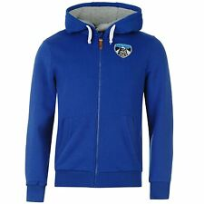 Team Mens Zip Hoody Top Hooded Hoodie Long Sleeve Sweatshirt Clothing Wear