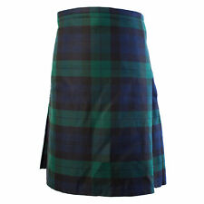 New Black Watch Kilt Tartan Highland Utility Kilt Scottish Handmade 8 yard
