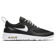 Nike Air Max Thea Black White Kids Low Top Trainers