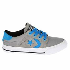 Converse Cons Tre Star Ox Grey Youths Trainers