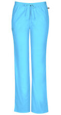 Scrubs Dickies Tall Mid Rise Pull-On Pant 82204AT NVWZ Navy Free Shipping