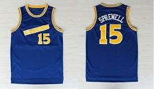 Latrell Sprewell #15 Golden State Warriors Basketball Jersey Men STITCHED