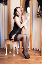 Seamed vintage nylons Stockings super soft and sexy RHT nylons