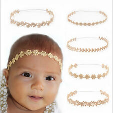 Baby Girls Toddler Child Elasticity Headband Lace Flower Hairband Hairbow
