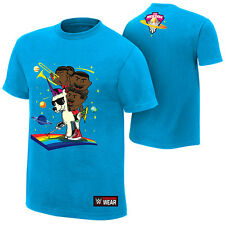 WWE AUTHENTIC THE NEW DAY FEEL THE POWER T-SHIRT L XL NEW FREE SHIPPING