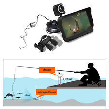"HD Underwater Ice Video Fishing Dual Camera DVR 4.3"" Monitor 20/30m Fish F1 G0"