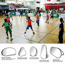 Custom Double-Sided Banners Sport Match Advertise Board Sign Flag+Stand included