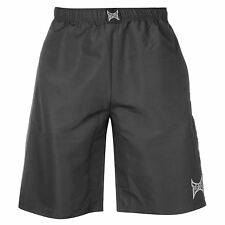Tapout Workout Shorts Mens Charcoal Sportswear Short Boxing MMA