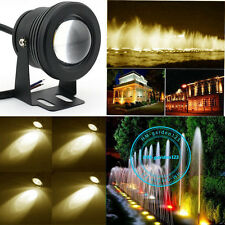 10W LED Underwatar Spot Light Lamp Energy Saving Fountain Fish Pond Tank Garden
