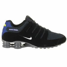 Nike Shox NZ Special Edition Black/White-Paramount Blue Mens Trainers