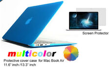 "Screen Protector/Clear Crystal Transparent Case For Mac Book Air 11.6""/13.3"""