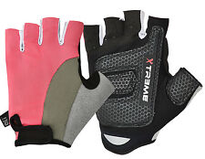 New Wheelchair Cycling Gloves Half Finger Gel Padded Palm Terry Towel