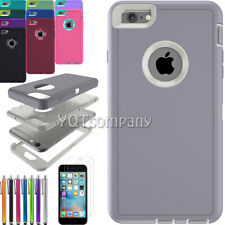 Shockproof Hybrid Rugged Skin Hard Armor Case Cover For Apple iPhone 6 6s Plus