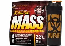 PVL MUTANT MASS WEIGHT GAINER PROTEIN MUSCLE GAIN SHAKE  2.2KG + SHAKER 1l